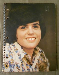 Donny Osmond Spiral Notebook 1970's