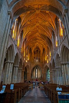Pershore Abbey, Worcestershire, England