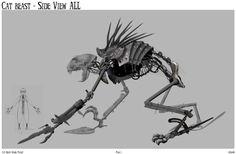 9 Tim Burton's Cat Beast