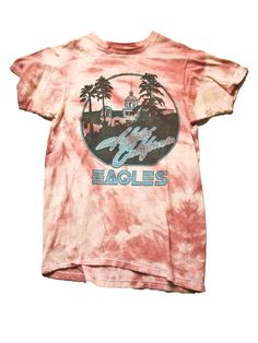 Eagles Hotel California Vintage T-Shirt 1970s ///SOLD///