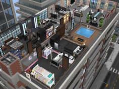 Sims Freeplay Penthouse