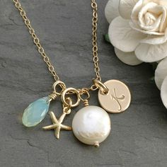 Hand+Stamped+Goldfilled+Initial+Necklace++3/8+by+divinestampings,+$49.00