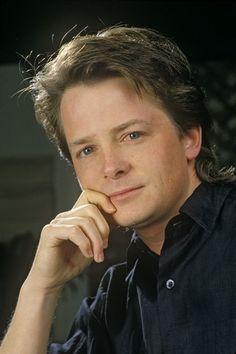 Michael J Fox. A brave man... a good husband, and loving father.  God Bless HIM!