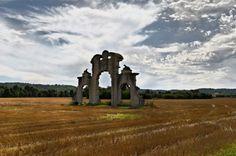 Vestiges du château de Soupir, Aisne.