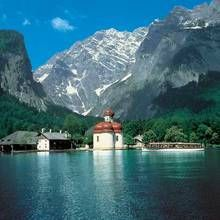 St Bartholomew's Church Lake Konigssee Germany- only accessible by boat- such a magical and beautiful lake- pictures don't even do it justice!