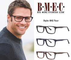 bd1e0f65ed Fashionable eyewear for bigger men that fits! BMEC Collection by Modern  Optical International