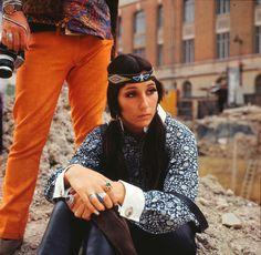 Cher in Paris 1967