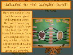 """Double Bubble"" to Compare Apples & Pumpkins"