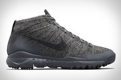 Nike's All Conditions Gear line is making a comeback, and it starts with the NikeLab ACG Flyknit Trainer Chukka SFB. Designed primarily for bad weather wear in urban environments but rugged enough to tackle a day on the trail, they...