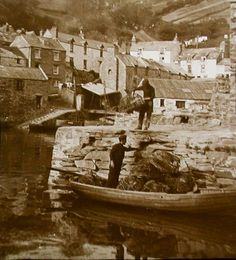 Photos of Devon and Cornwall in the West Country,Photos on Canvas,digital art Polperro Cornwall, Devon And Cornwall, Photo Canvas, Vintage Photos, Digital Art, Country, Nature, Painting, Naturaleza
