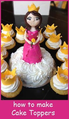 How to make Cake Toppers...it might be a stretch...but can't you see Mary Queen of Heaven & Earth?