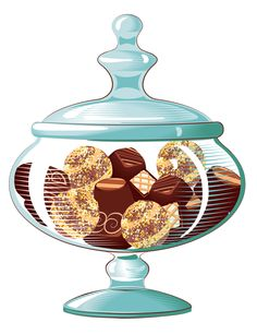 Kitchen Ware Candy Bars