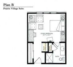 Small Studio Apartment Floor Plans | Studio Apartment | Garage ...