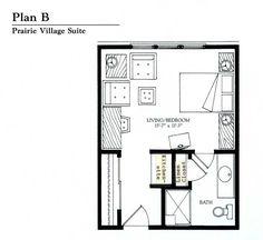 Small Studio Apartment Floor Plans   Floor Plans