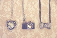 That camera necklace>