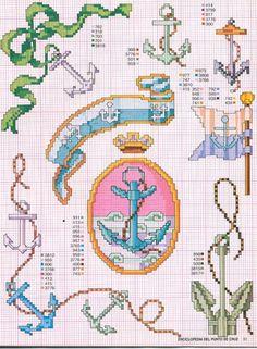 Kreuzstich sticken cross stitch - free pattern Gallery.ru / Foto # 38 - Enciclopèdia ITALIANA - KIM-2