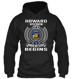 Howard, Wisconsin - My Story Begins