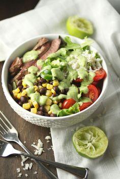 Midwestern Steak Salad