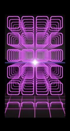 棚クール紫黒 iPhone5s壁紙
