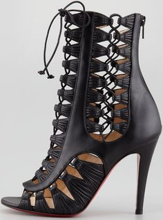 Kylie Jenner Loves Christian Louboutin Gladiator Boots