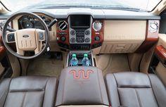 2015 Ford F-150 interior and dash