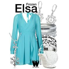 Inspired by Disney's Elsa, voiced by Idina Menzel in 2013's Frozen.