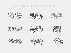 Recent Work: Olly Polly Rebrand
