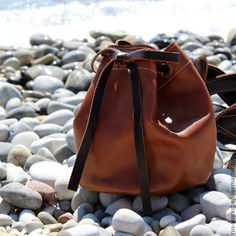 Купить Рюкзак, рюкзак кожаный, рюкзак маленький, рюкзак из кожи - коричневый, рюкзак, рюкзак женский
