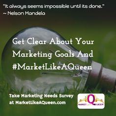 Marketing can seem like an impossible mountain to climb. #StartUpStrong Get help at: MarketLikeAQueen.com