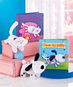 I Love My...Book & Plush Sets