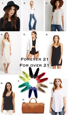 Forever 21 for Over 21. Clorthing choices for those of us that are no longer 21. #forever21 #summerclothes livelovesara.com