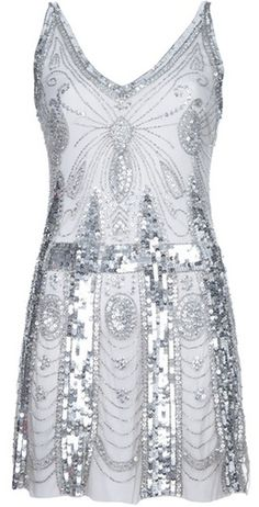 I wish i could afford this for my birthday dress. PIERRE BALMAIN PARIS   Sequin Dress
