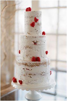 Wedding Cakes | Red+ White Valentine