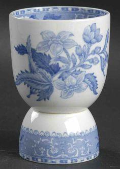 Spode Camilla Blue Double Egg Cup 676235 | eBay