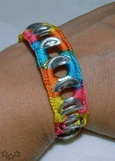 nice 100 manualidades con anillas de latas / 100 Can tabs - pop tabs crafts…