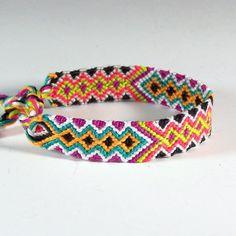 Aztec Frienship Bracelet / Friendship Jewelry / Embroidery Floss