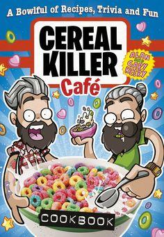 Cereal Killer Cafe cookbook!! For all the tastiest cereal cocktails! #cerealkillercafe