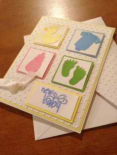 Welcome baby card by InspirationsByEmi on Etsy, $2.25