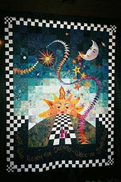 Sun and moon quilt
