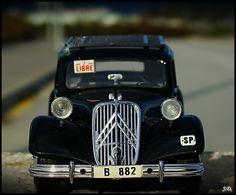 Citroen Traction taxi barcelona