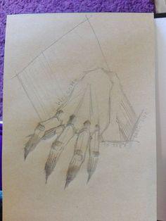 #newsketchbook #hand #darkhand #darkside #doodles