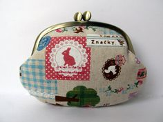 Coin purse Card case Kawaii Zakka Bunny by LuckyCatHandmade, €14.80