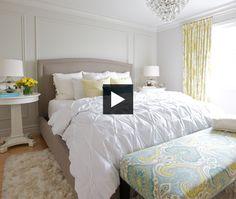Budget Bedroom Makeover - Trish Johnston