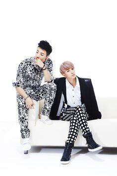 Sungjun and Minsu