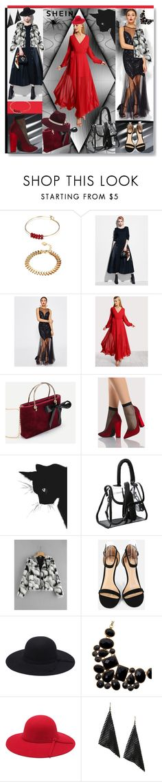 """shein-V-4"" by ane-twist ❤ liked on Polyvore featuring shein"