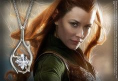 Tauriel necklace Lord of the rings the Hobbit by SvevaShop on Etsy
