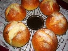 Bollets de moniato, bollos de boniato Donuts, Empanadas, Sweet Bread, Bread Recipes, Sweet Recipes, Sweet Potato, Entrees, Yummy Food, Delicious Recipes