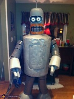 This homemade costume for men entered our 2013 Halloween Costume Contest.