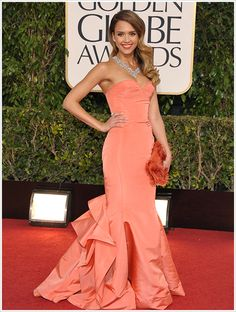 Jessica Alba @ 2013 Golden Globes