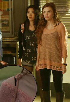 Where Teen Wolf and Fashion Lovers meet. Teen Wolf Fashion, Teen Wolf Outfits, Girl Fashion, Lydia Martin Style, Lydia Martin Outfits, Scott Mccall, Lydia Teen Wolf, Mtv, Looks Teen